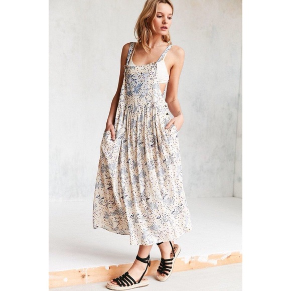 f46eb45a65c0 Urban Outfitters Dresses | Kimchi Blue Annie Overall Midi Dress Nwt ...
